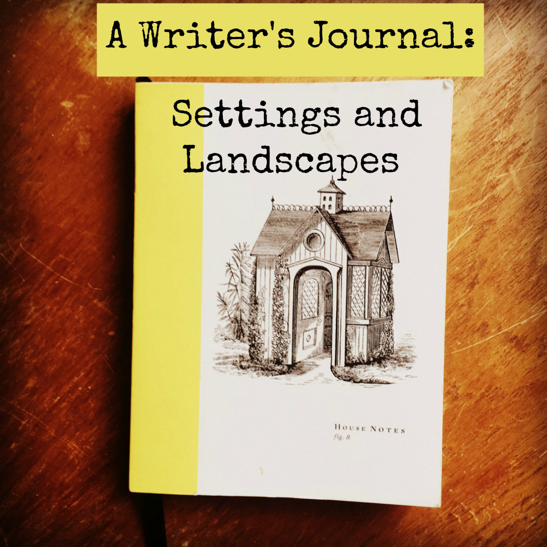 I keep a separate writer's journal for settings and landscapes in order to make worldbuilding easier