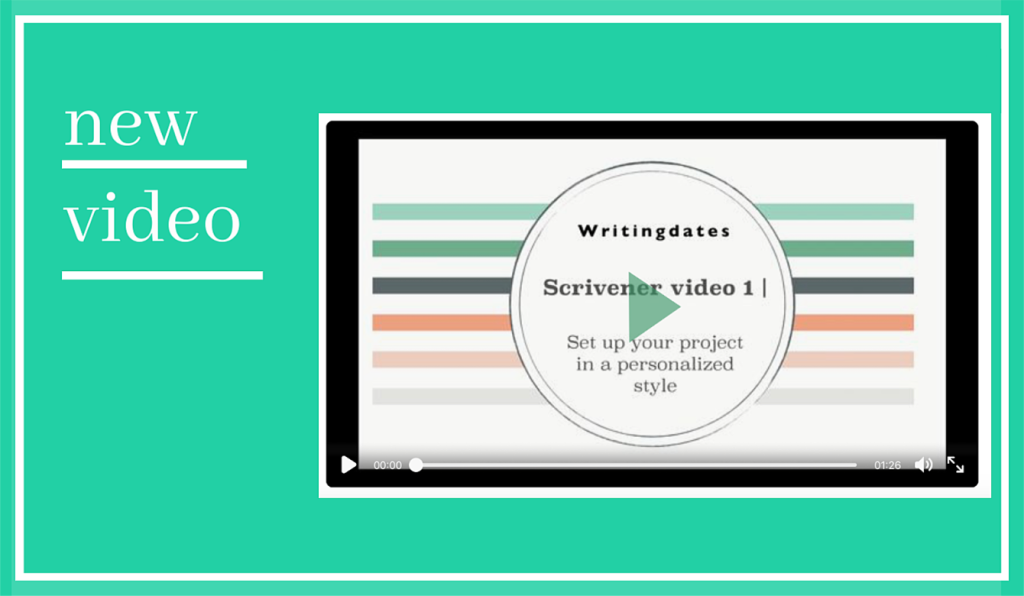 A video on how to customize Scrivener.