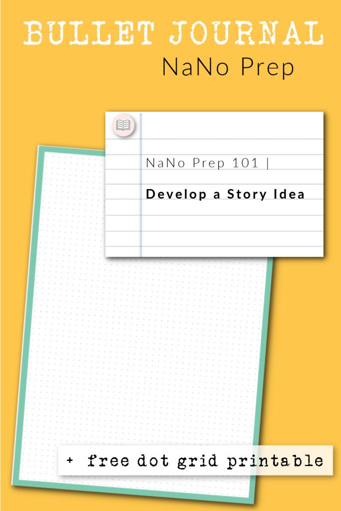Free dot grid printable for bullet journal